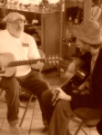 Jamming with Tom Hitt, founder of the LMGH Project.
