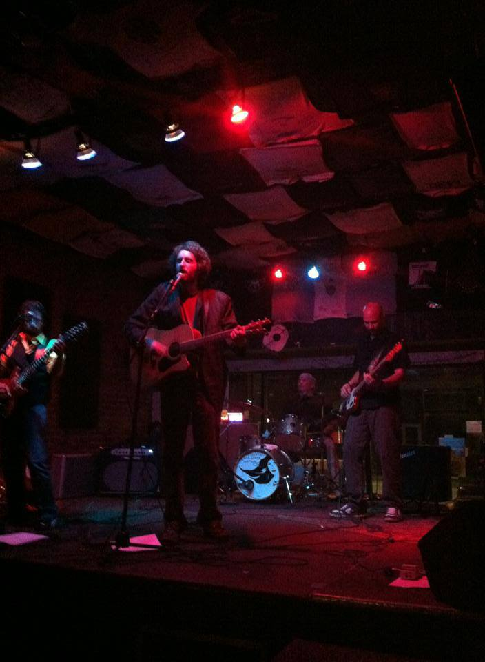 Strangers and Liars performing @ Howlers Coyote Cafe in Pittsburgh.