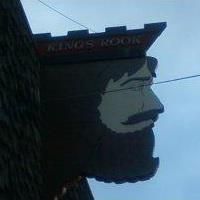 You'll know the place by this handsome devil above the door.